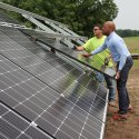 Sisters to celebrate the doubling of their solar energy capacity