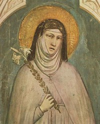 A reflection on Saint Clare as a foot washer